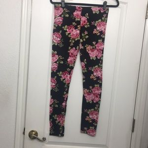 Ambiance Pants - Floral leggings